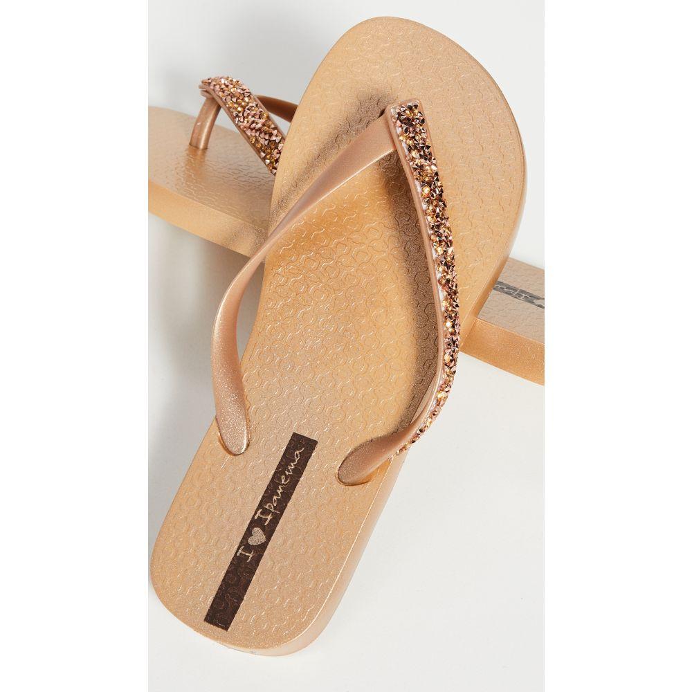 イパネマ Ipanema レディース ビーチサンダル シューズ・靴【Pebble Flip Flops】Gold