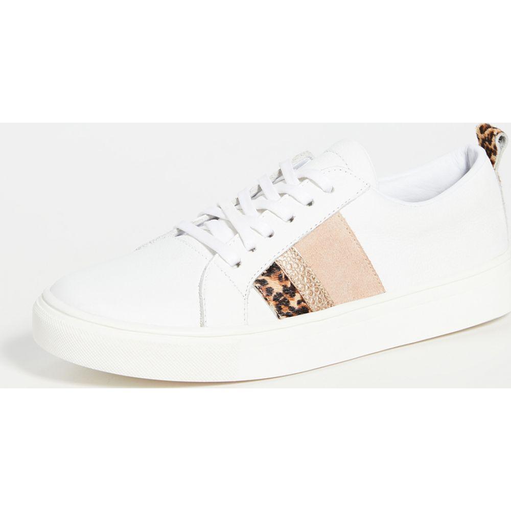カーナス KAANAS レディース スニーカー レースアップ シューズ・靴【Bristol Lace-Up Sneakers】Cheetah