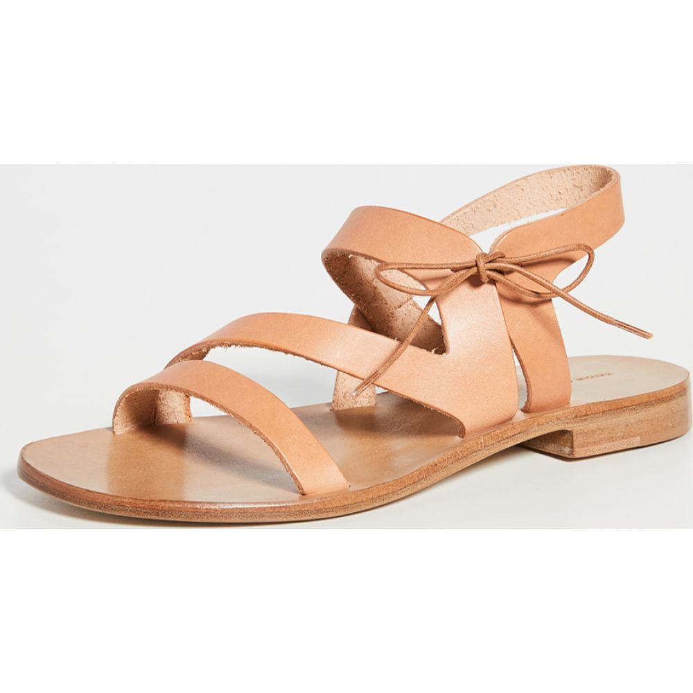 マンサーガブリエル Mansur Gavriel レディース サンダル・ミュール シューズ・靴【Tie Sandals】Cammello