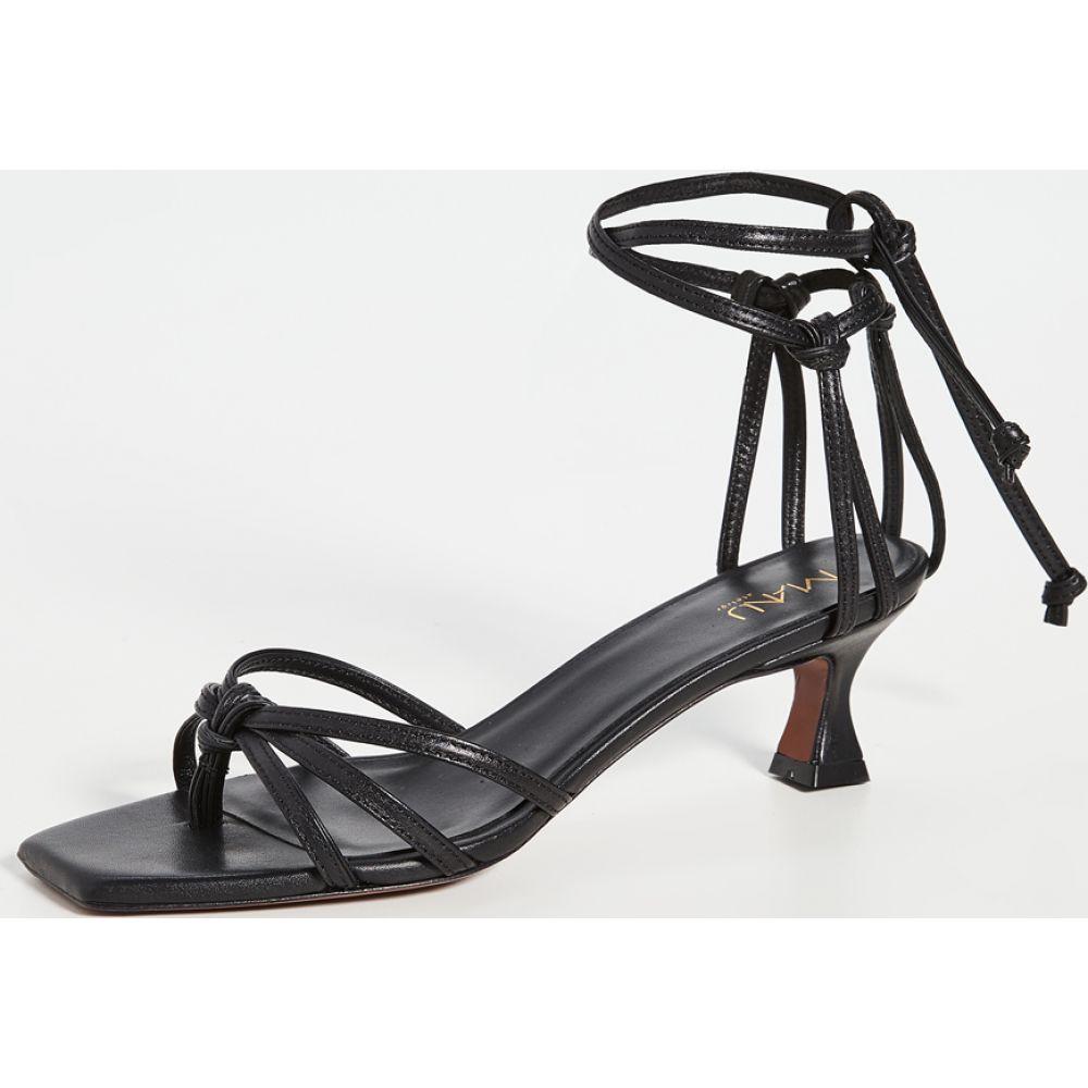 マニュ アトリエ MANU Atelier レディース サンダル・ミュール シューズ・靴【Lace Sandals】Black