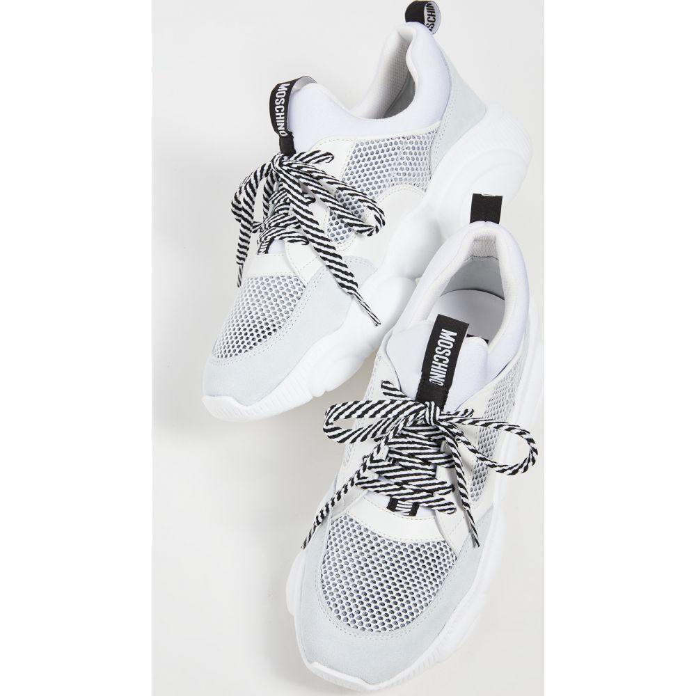 モスキーノ Moschino レディース スニーカー シューズ・靴【Jogger Sneakers】Wht/Wht/Wht/Wht