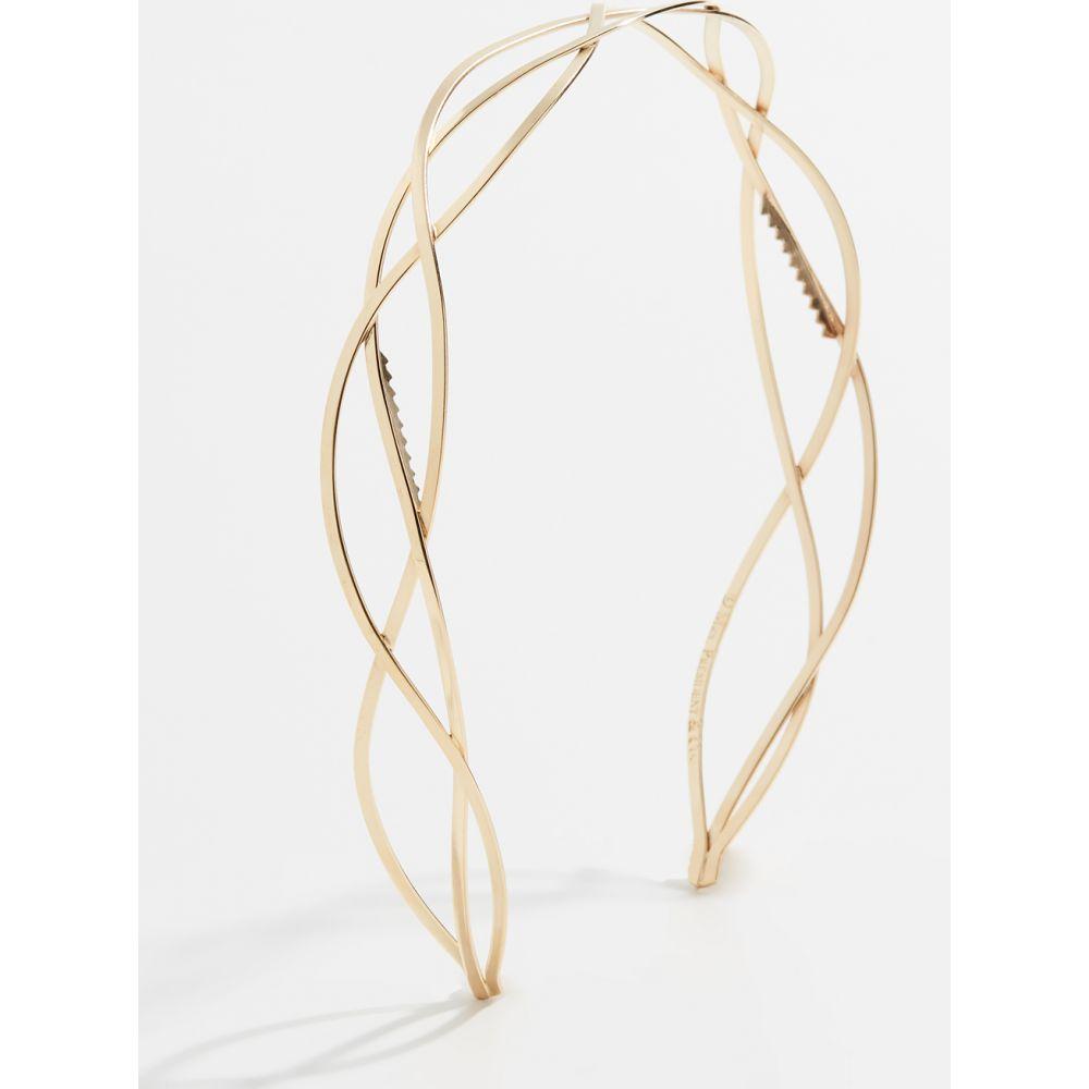 ミセスプレジデントアンドコー Mrs. President & Co. レディース ヘアアクセサリー ヘッドバンド【The Urbanista Headband】Tone Gold
