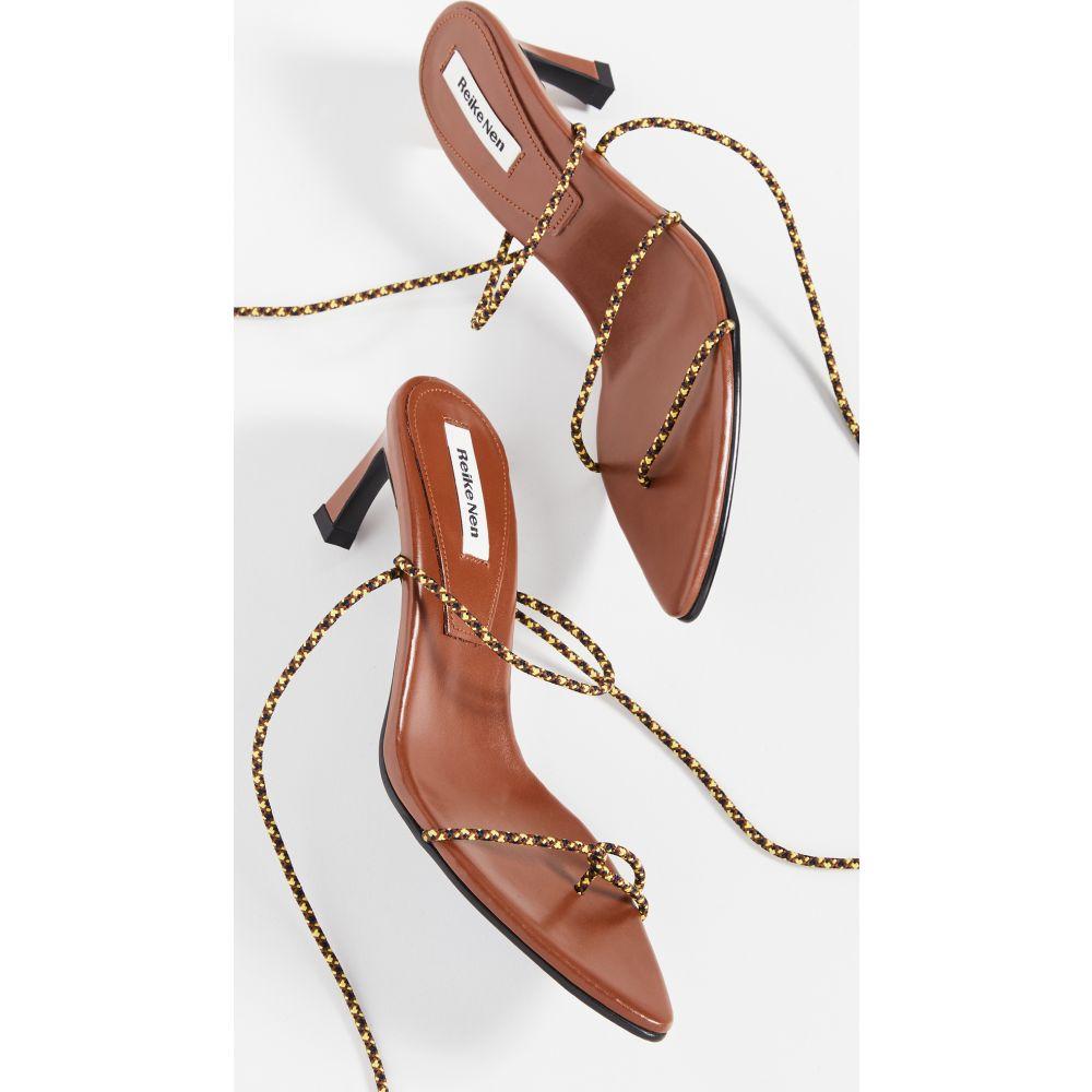 レイクネン Reike Nen レディース サンダル・ミュール シューズ・靴【Odd Pair Sandals】Brown/Yellow String
