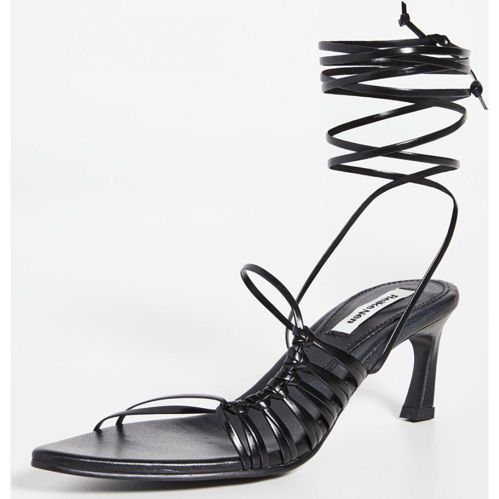 レイクネン Reike Nen レディース サンダル・ミュール シューズ・靴【Knot Pointed Sandals】Black