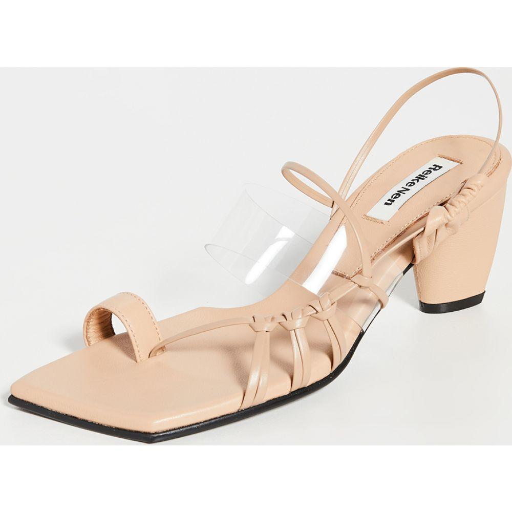 レイクネン Reike Nen レディース サンダル・ミュール シューズ・靴【Side Knot Strap Sandals】Beige