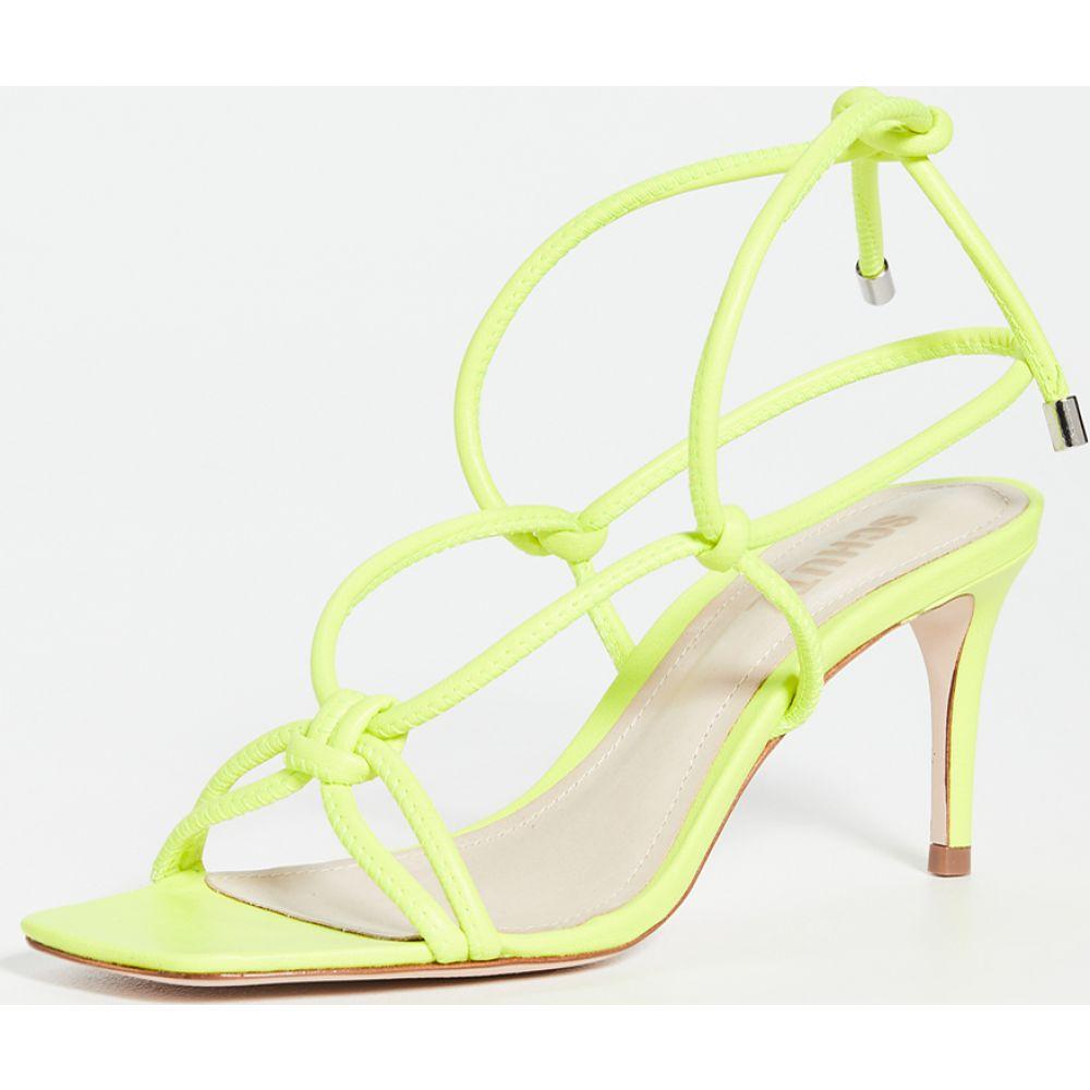 シュッツ Schutz レディース サンダル・ミュール シューズ・靴【Belize Sandals】Neon Yellow