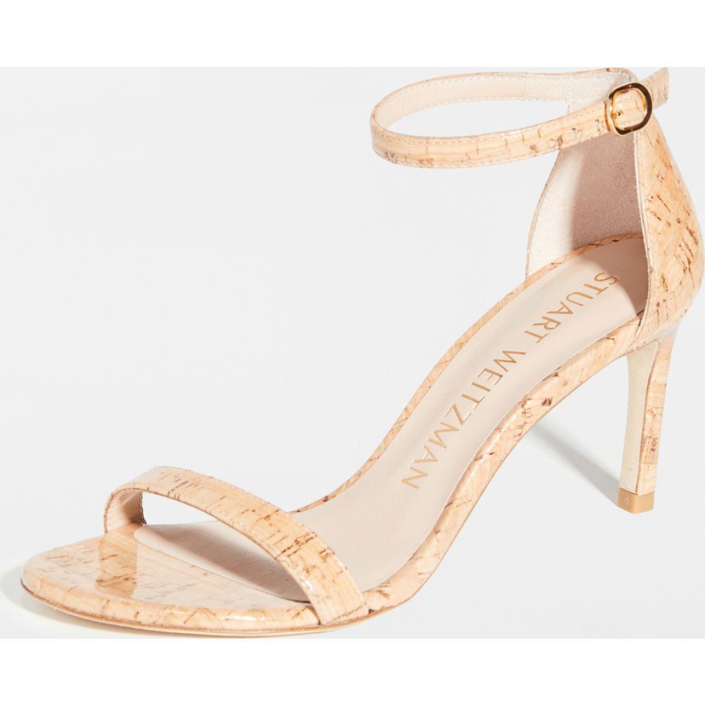 スチュアート ワイツマン Stuart Weitzman レディース サンダル・ミュール シューズ・靴【Nunaked Straight Sandals】Natural