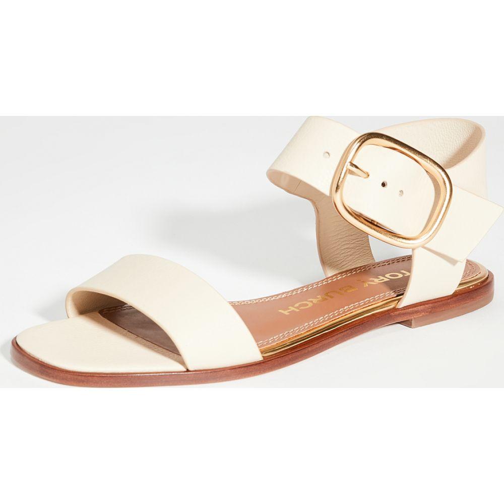 トリー バーチ Tory Burch レディース サンダル・ミュール フラット シューズ・靴【Selby Flat Sandals】Dulce de Leche