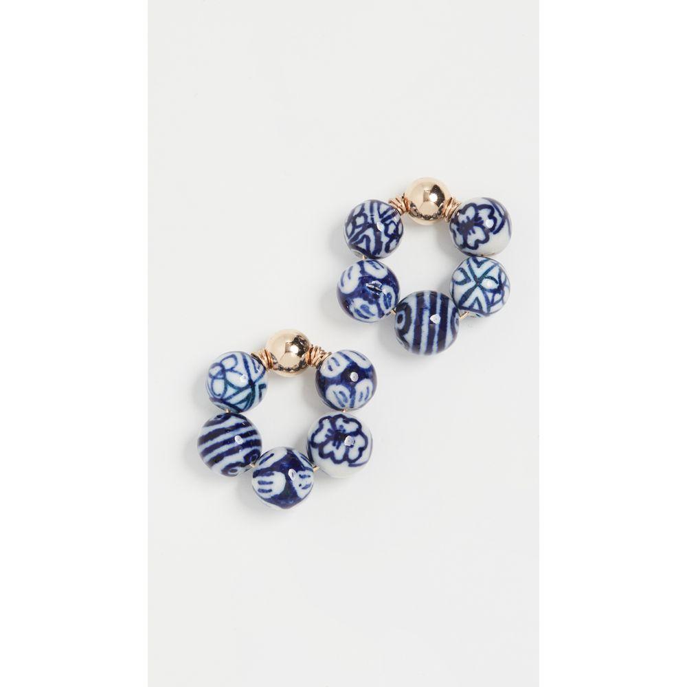 ベックジュエルズ Beck Jewels レディース イヤリング・ピアス ジュエリー・アクセサリー【Blauw OG Earrings】Blue