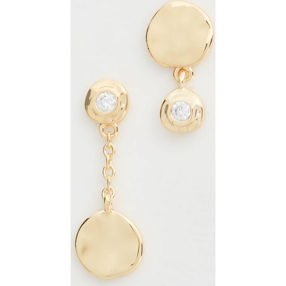 ゴリアナ Gorjana レディース イヤリング・ピアス ジュエリー・アクセサリー【Chloe Shimmer Mismatched Earrings】Yellow Gold