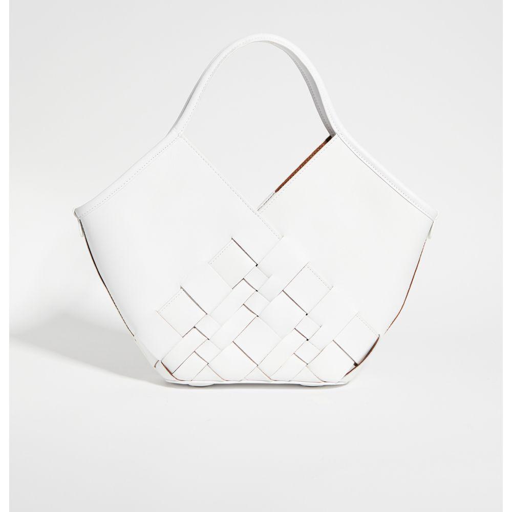 ヘリュー Hereu レディース トートバッグ バッグ【Coloma Small Bag】White