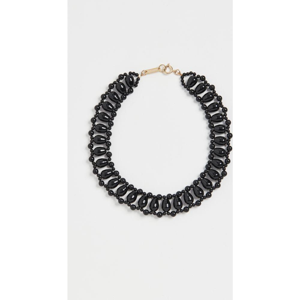 イザベル マラン Isabel Marant レディース ネックレス ジュエリー・アクセサリー【Malawi Necklace】Black