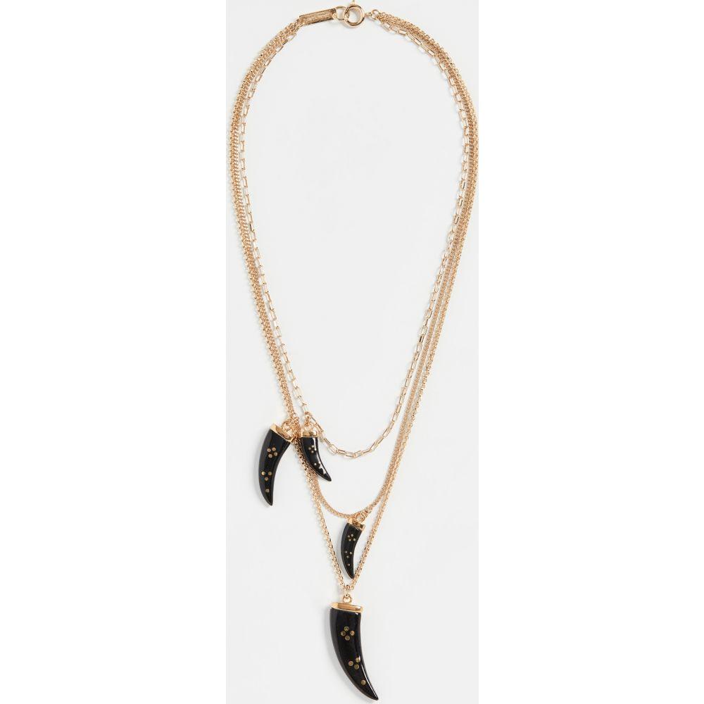 イザベル マラン Isabel Marant レディース ネックレス ジュエリー・アクセサリー【Aimable Necklace】Black
