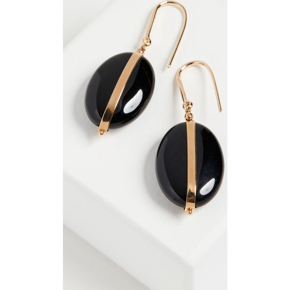 イザベル マラン Isabel Marant レディース イヤリング・ピアス ジュエリー・アクセサリー【Stones Earrings】Black