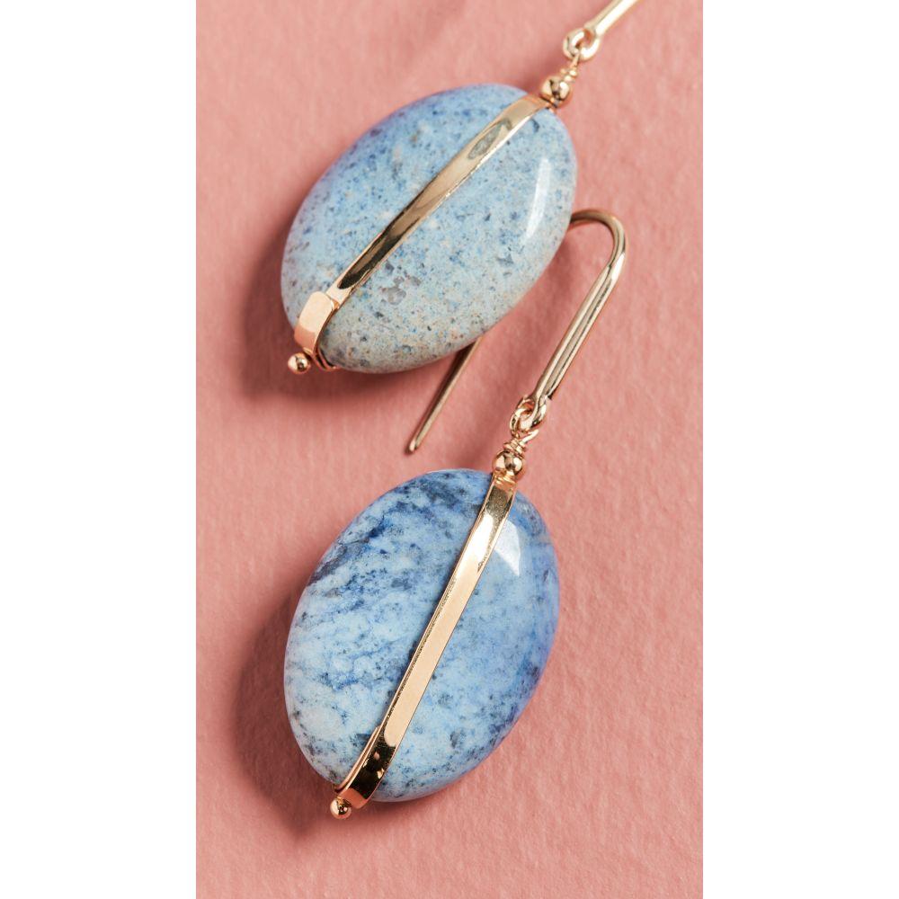 イザベル マラン Isabel Marant レディース イヤリング・ピアス ジュエリー・アクセサリー【Stones Earrings】Faded Blue
