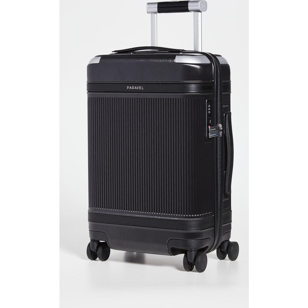 パラベル Paravel レディース スーツケース・キャリーバッグ アビエイター バッグ【Aviator International Carry On Suitcase】Derby Black