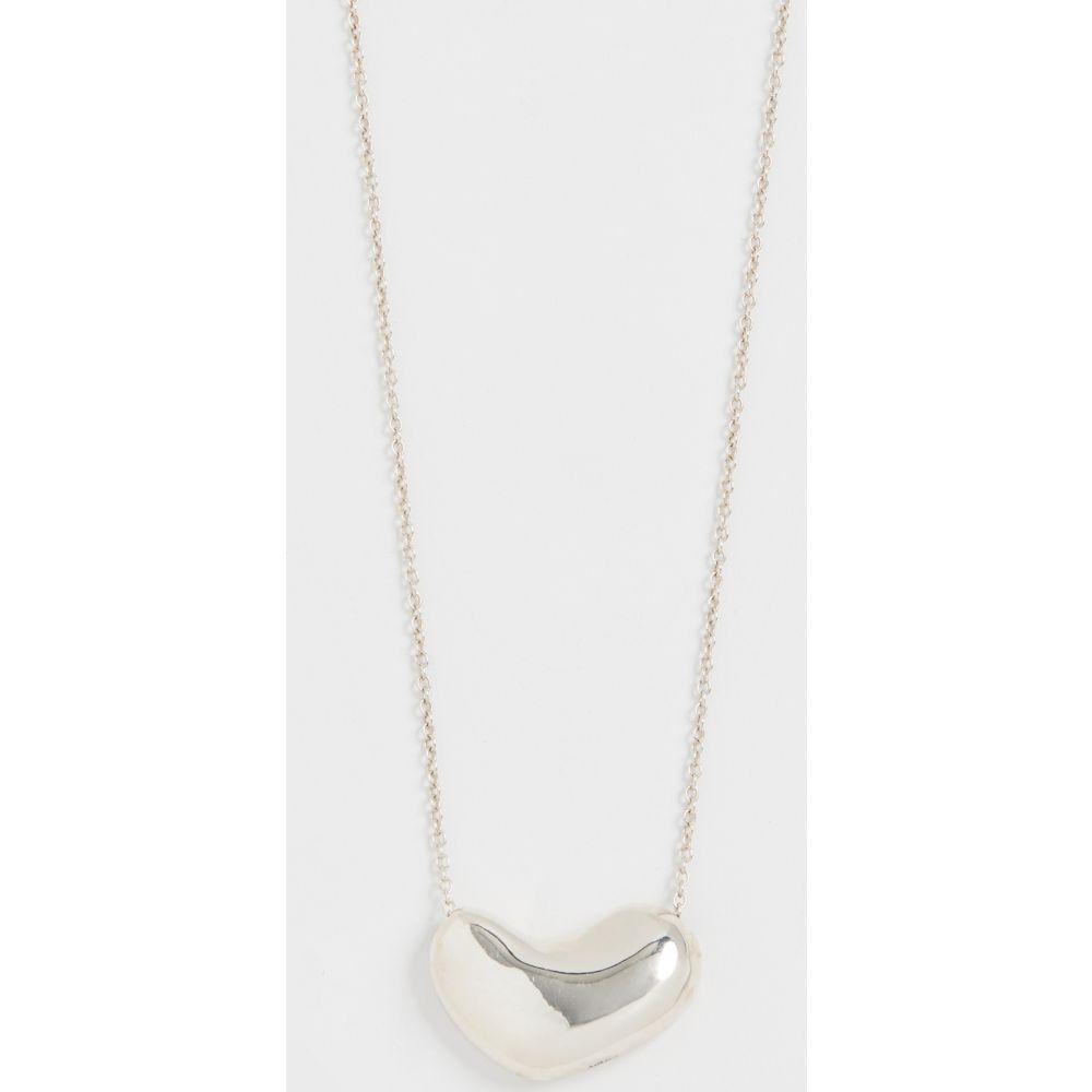 アグメス AGMES レディース ネックレス ハート ジュエリー・アクセサリー【Small Sculpted Heart Pendant Necklace】Sterling Silver