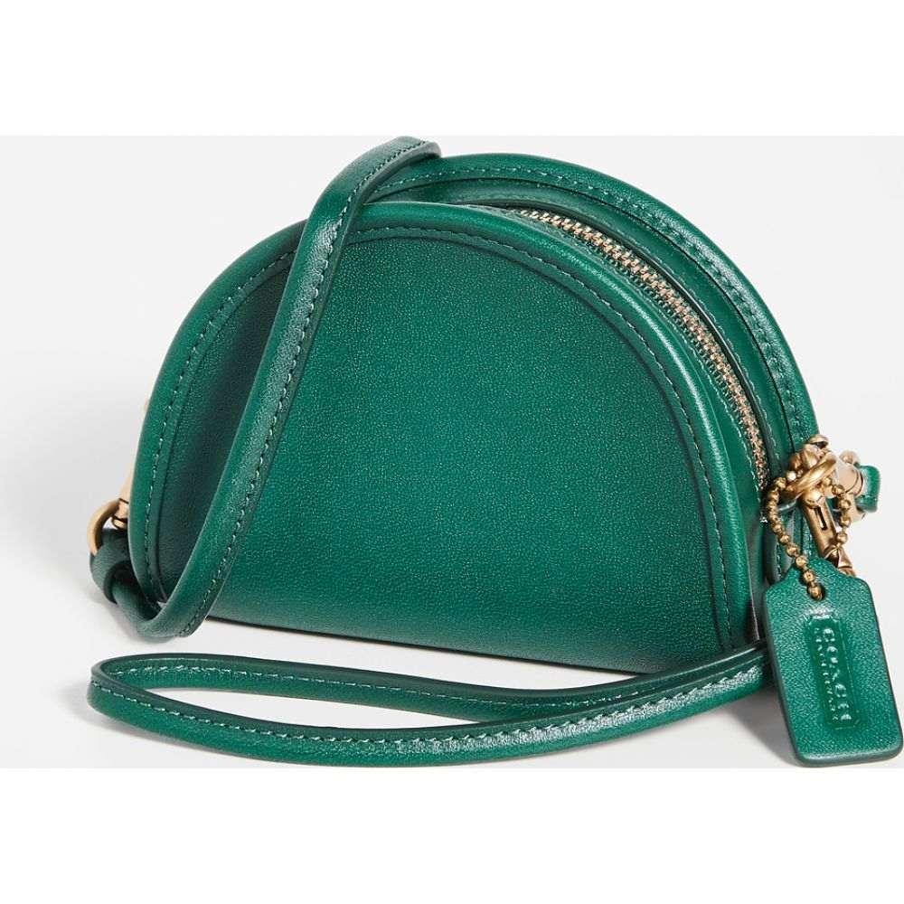コーチ Coach 1941 レディース ショルダーバッグ コインケース バッグ【Half Moon Coin Case】Emerald