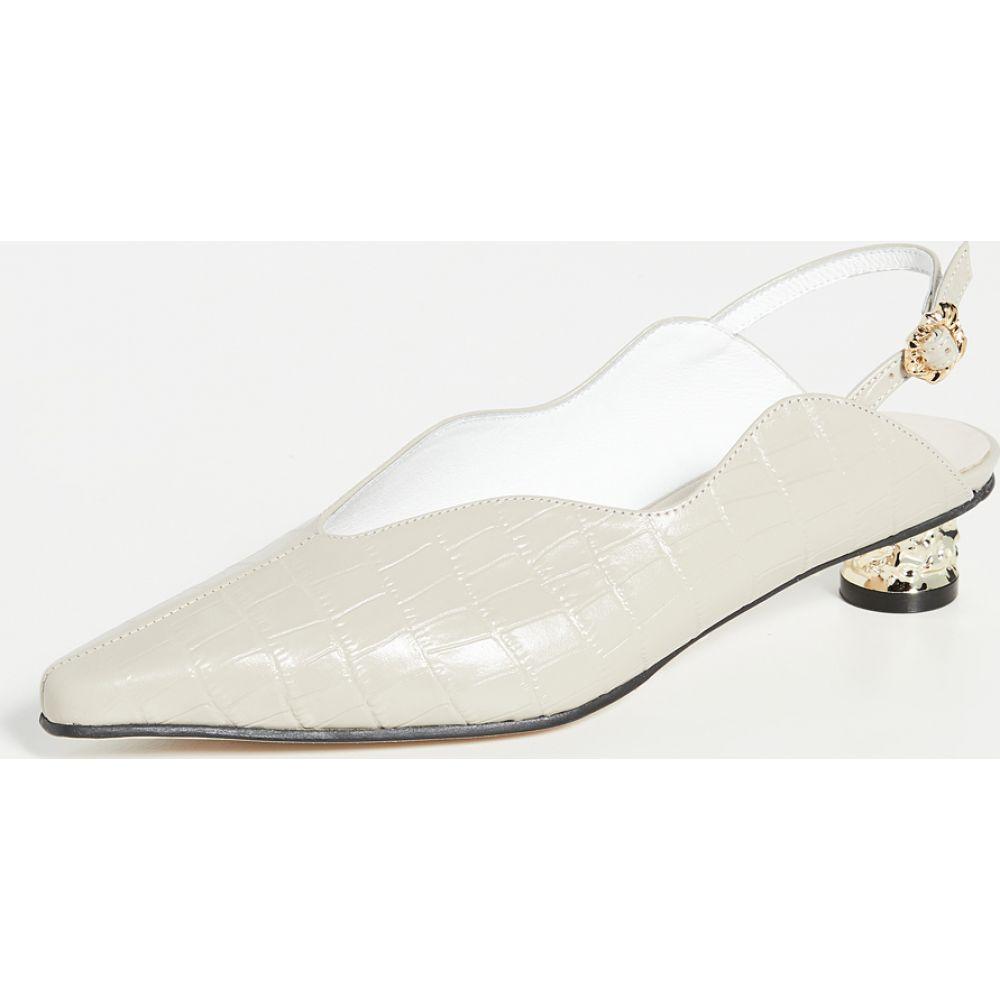 ユルイエ Yuul Yie レディース サンダル・ミュール シューズ・靴【Kalabera Sandals】Beige Croc/Gold