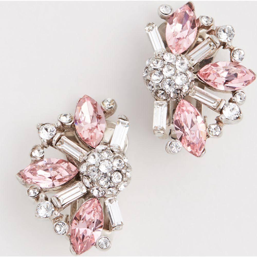 ベンアムン Ben-Amun レディース イヤリング・ピアス ジュエリー・アクセサリー【Colored Cluster Crystal Studs】Pink
