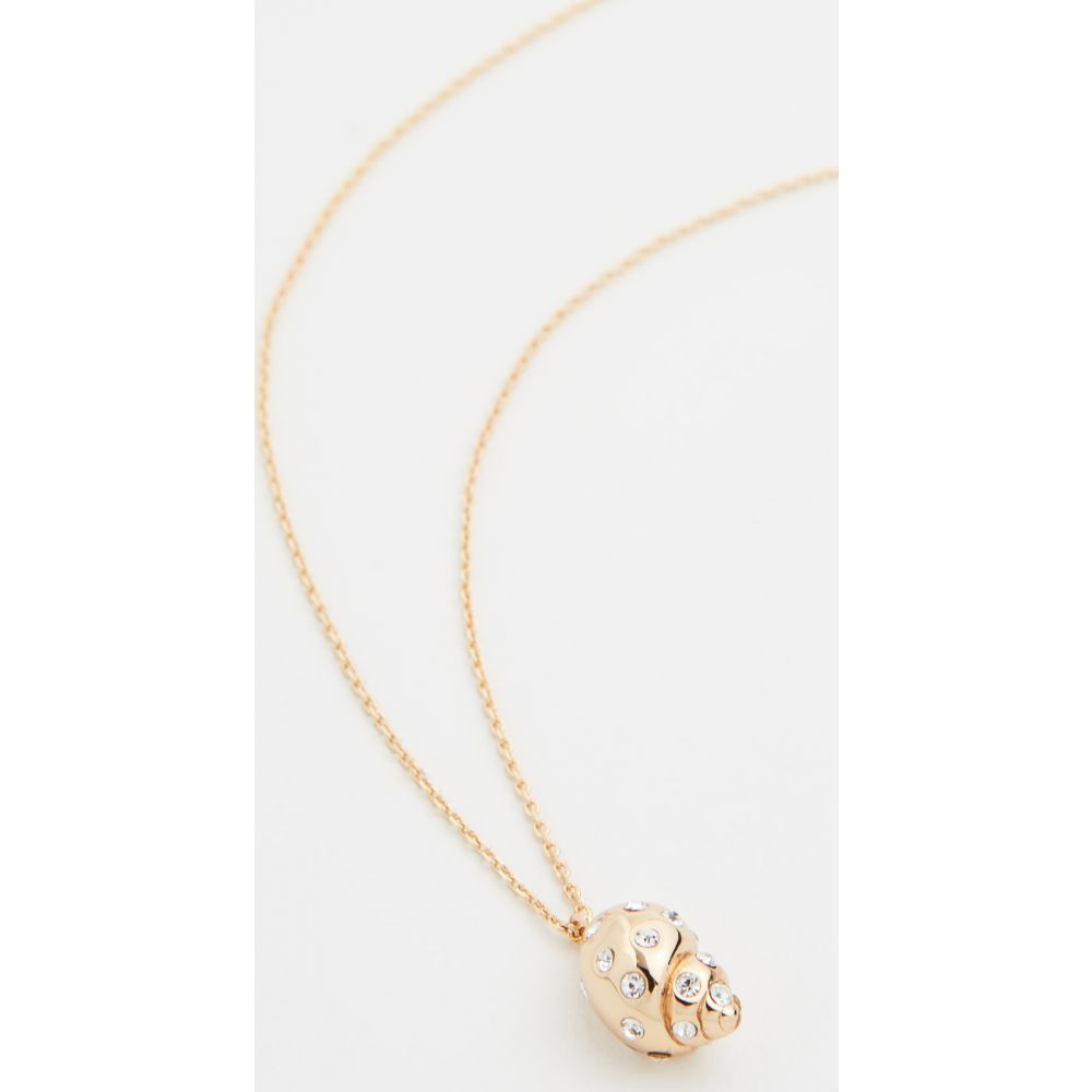 ケイト スペード Kate Spade New York レディース ネックレス ジュエリー・アクセサリー【Under The Sea Mini Pave Necklace】Clear/Gold