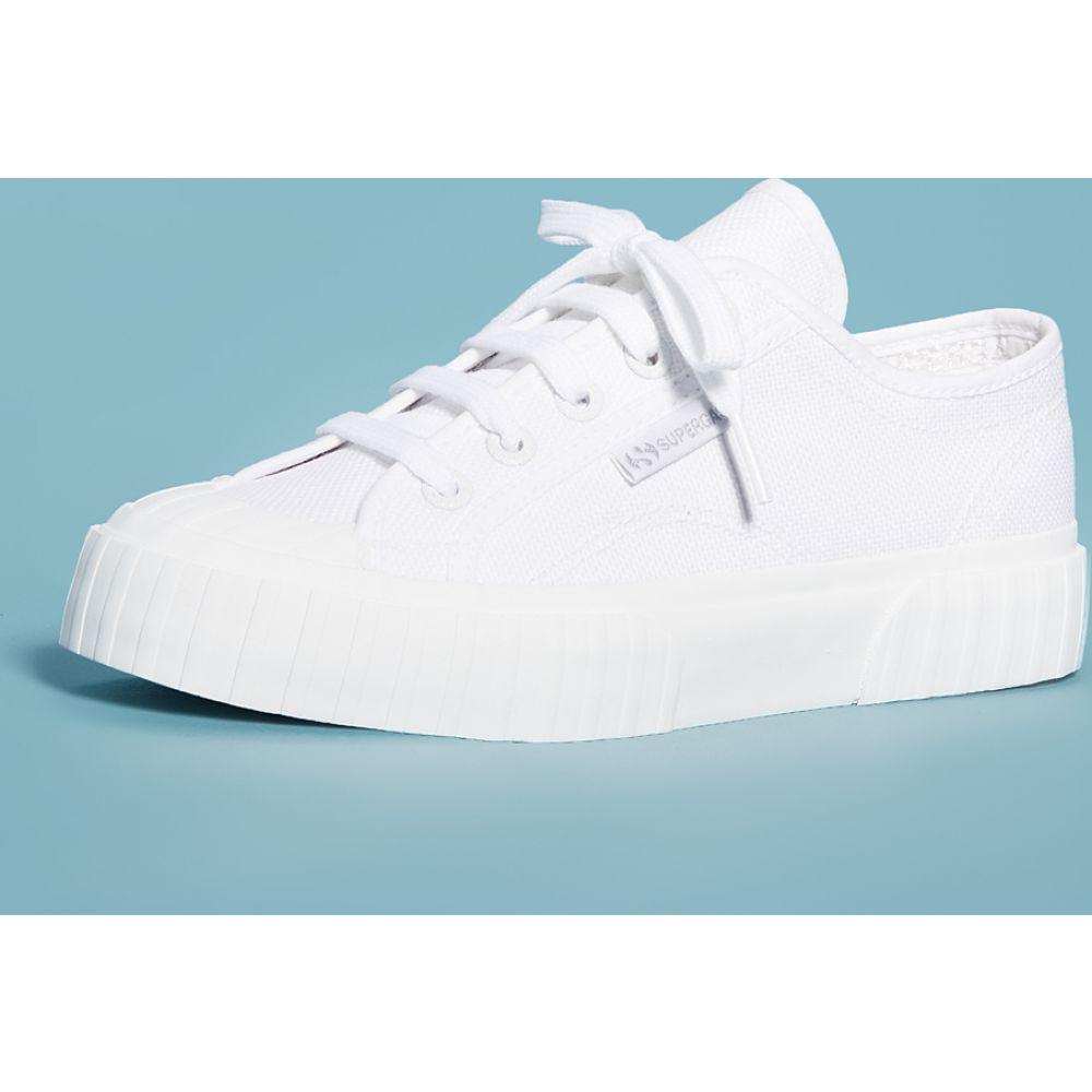 スペルガ Superga レディース スニーカー シューズ・靴【2630 Cotu Laceup Sneakers】Total White
