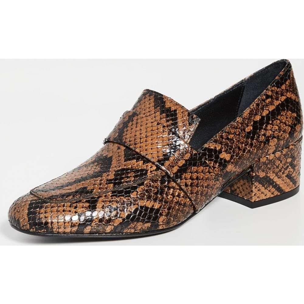 フリーダ サルバドール Freda Salvador レディース ローファー・オックスフォード シューズ・靴【The Rock Mid Heel Loafers】Brass