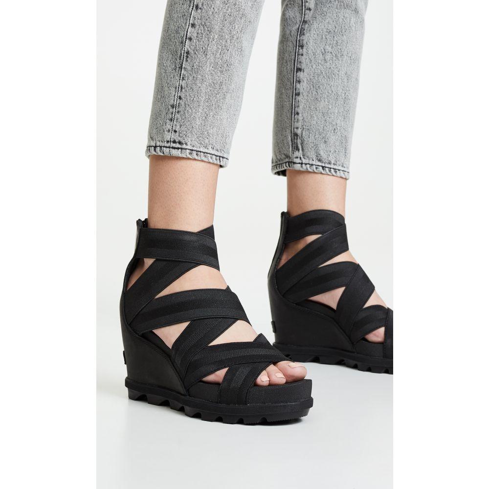 ソレル Sorel レディース サンダル・ミュール シューズ・靴【Joanie II Strap Sandals】Black