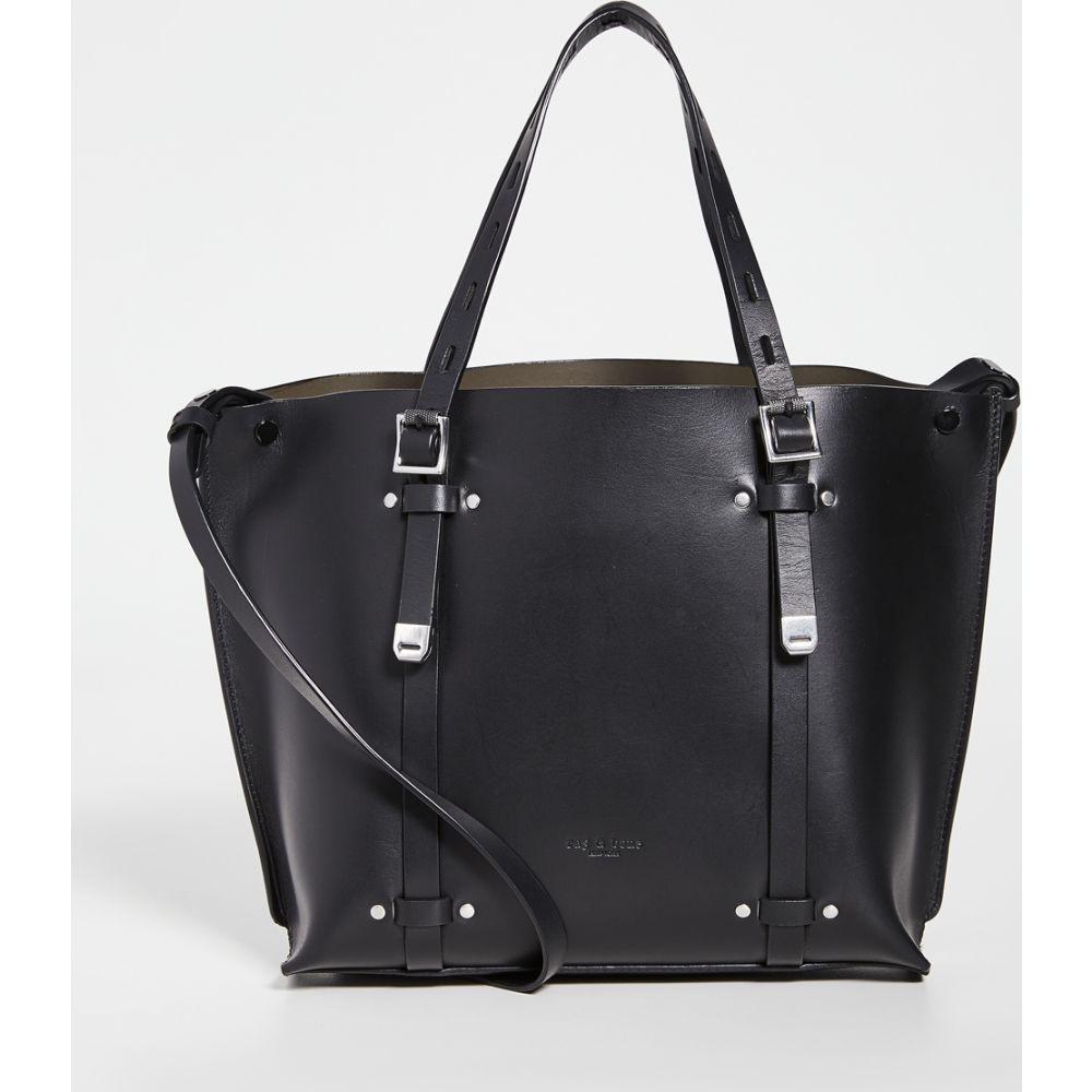 ラグ&ボーン Rag & Bone レディース トートバッグ バッグ【Mini Field Tote Bag】Black