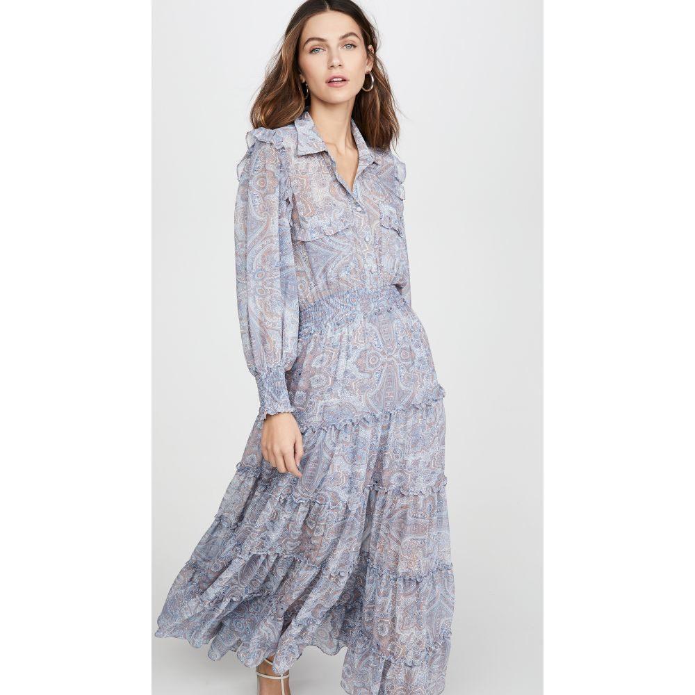 ミサ MISA レディース ワンピース ワンピース・ドレス【Aydeniz Dress】Washed Tile