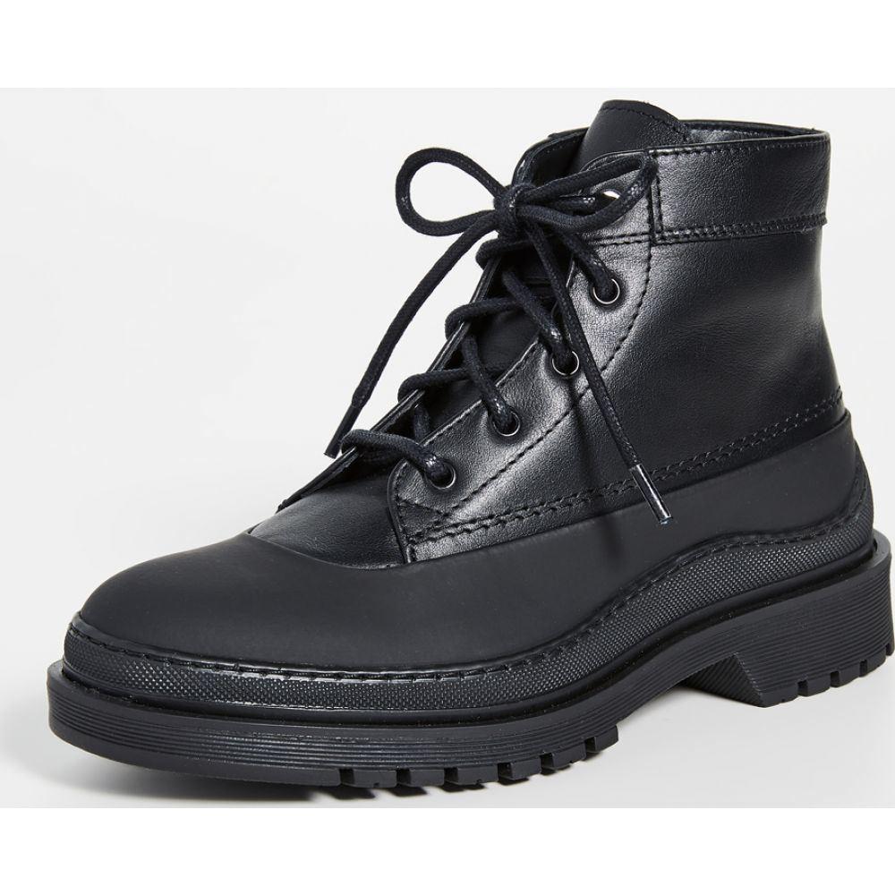 ウォント レス エッセンシャル WANT Les Essentiels レディース ブーツ ワークブーツ シューズ・靴【Luton Mid Work Boots】Multi Black/Black