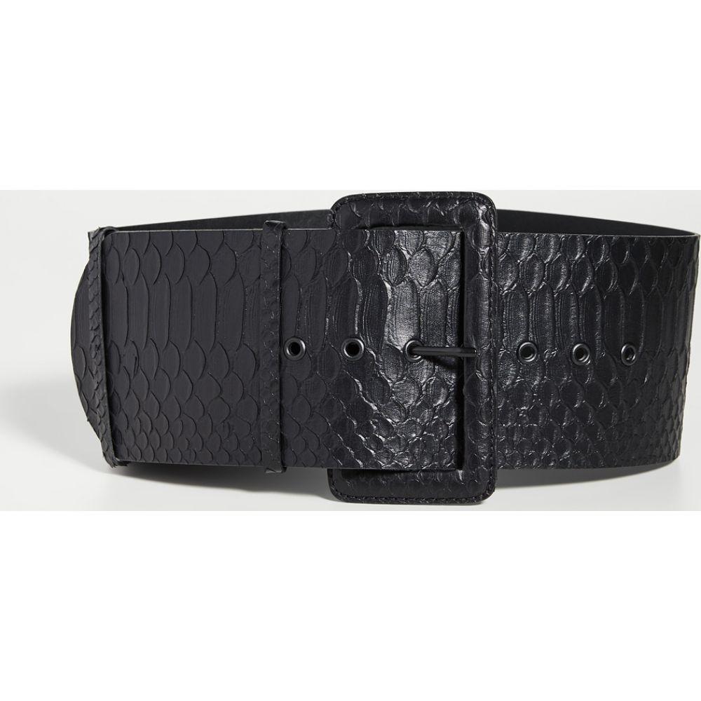 ジマーマン Zimmermann レディース ベルト 【Wide Waist Belt】Black