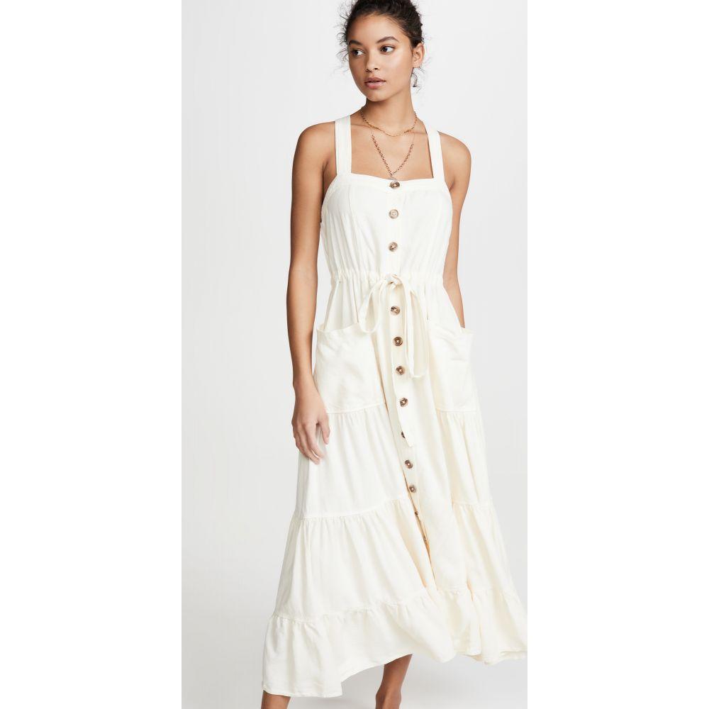 フリーピープル Free People レディース ワンピース ワンピース・ドレス【Catch The Breeze Dress】Ivory