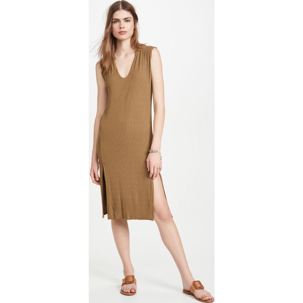 エルエヌエー LNA レディース ワンピース タンクドレス ワンピース・ドレス【Easy Rib Tank Dress】Olive