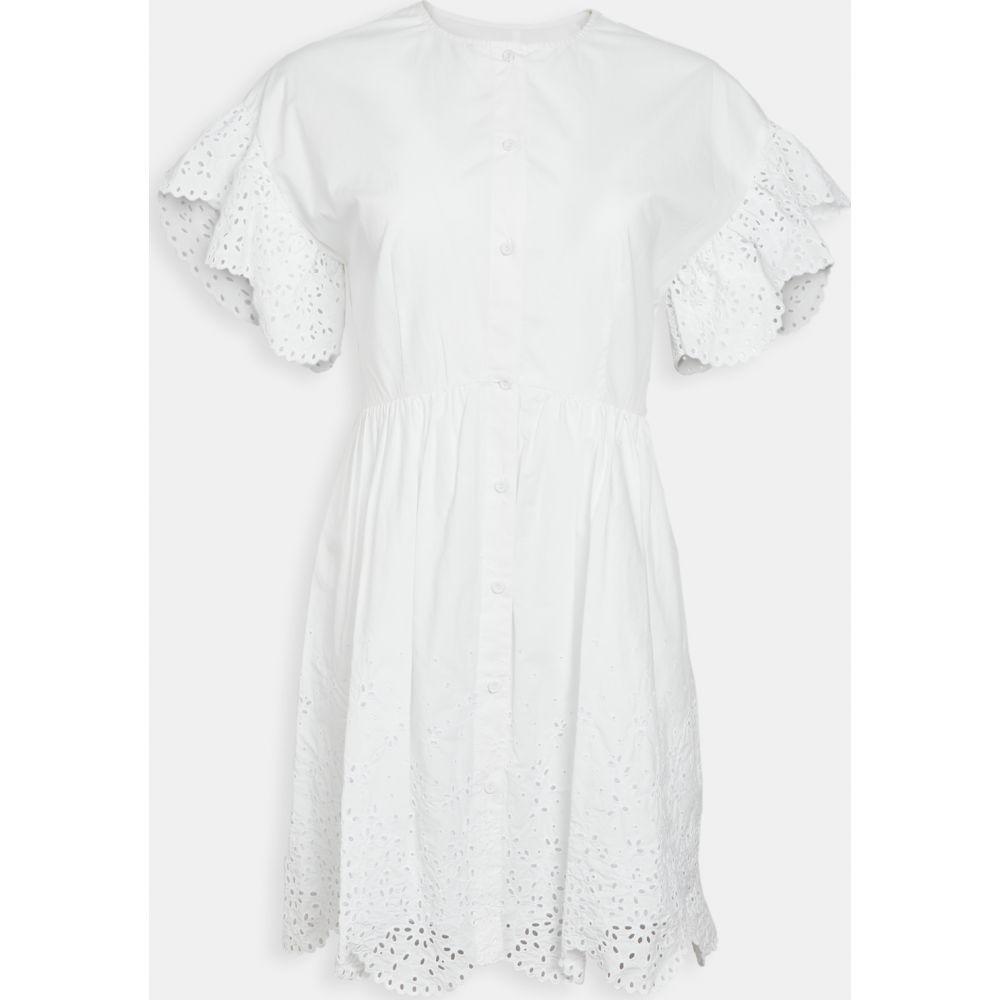 レベッカ テイラー La Vie Rebecca Taylor レディース ワンピース ワンピース・ドレス【Short Sleeve Eyelet Dress】Milk