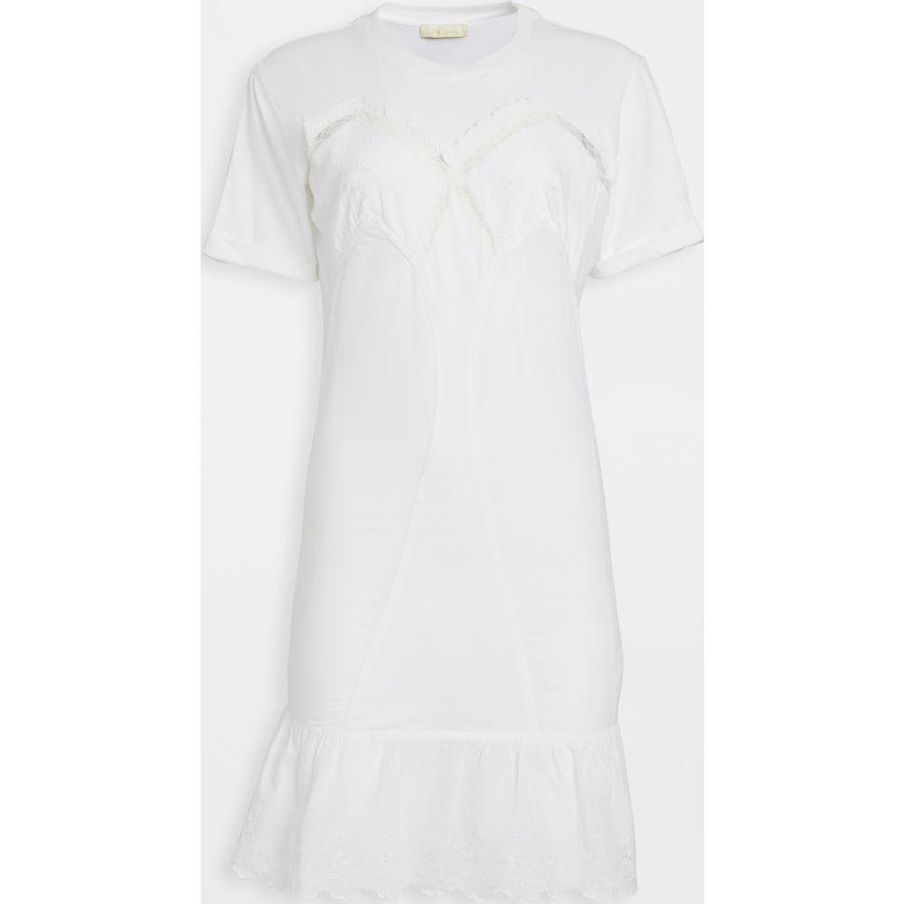 メドモアゼル Mes Demoiselles レディース ワンピース ワンピース・ドレス【Marylin Dress】White