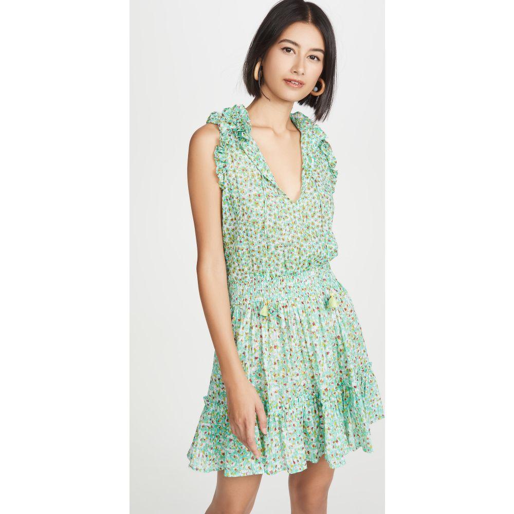 プーペット セント バース Poupette St Barth レディース ワンピース ミニ丈 ワンピース・ドレス【Triny Mini Dress】Green Iris