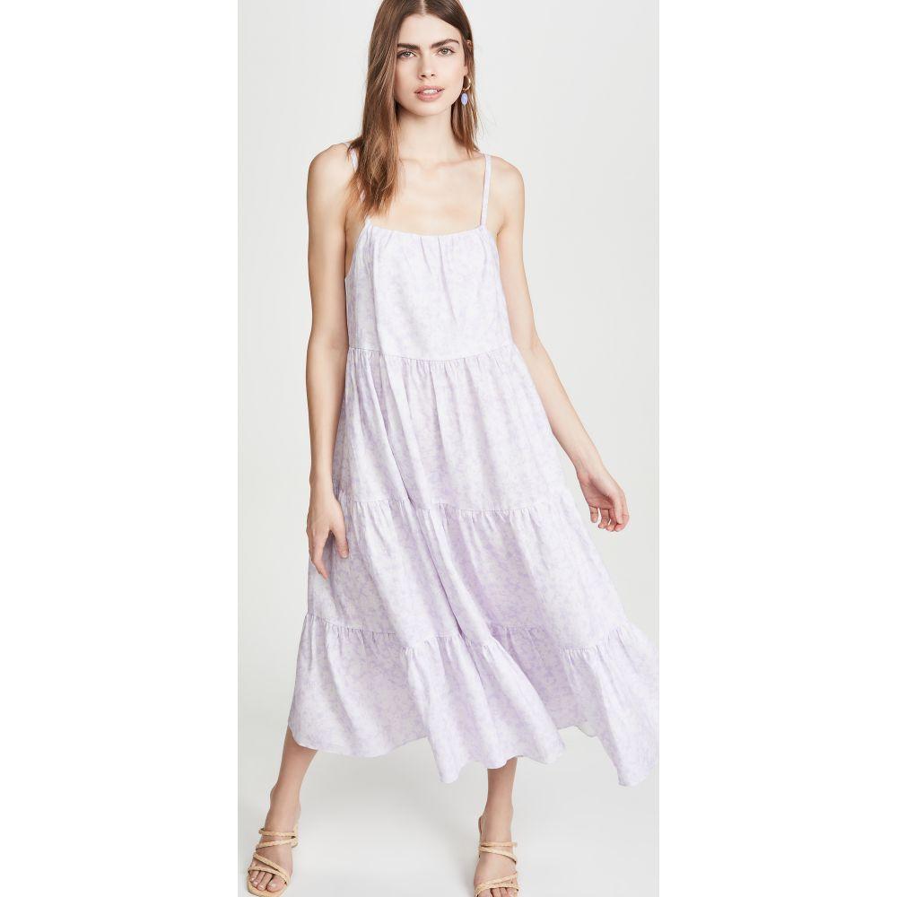 ピオニー Peony Swimwear レディース ワンピース ワンピース・ドレス【Aftersun Dress】Lavender