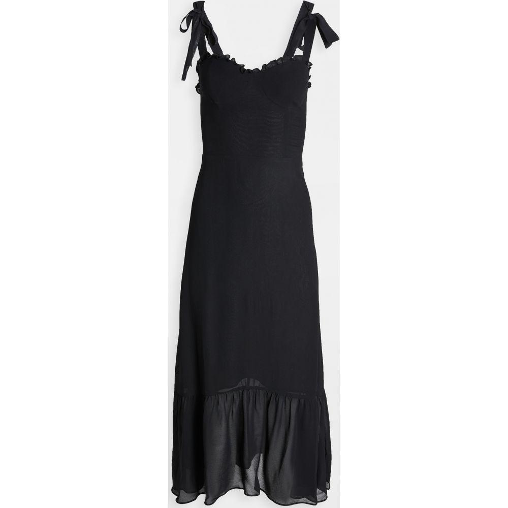 リフォーメーション Reformation レディース ワンピース ワンピース・ドレス【Nikita Dress】Black
