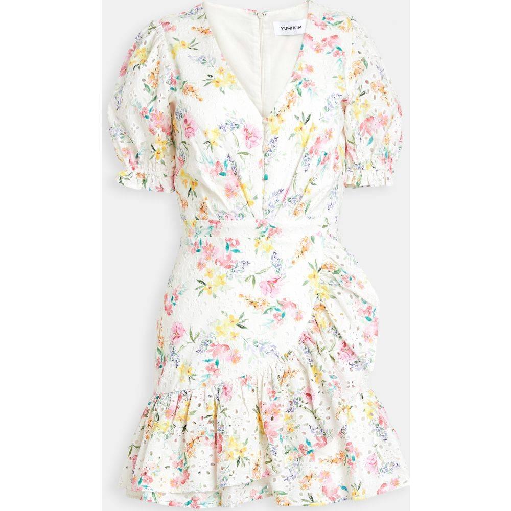 ユミキム Yumi Kim レディース ワンピース ワンピース・ドレス【Be The One Dress】Mulberry Ivory Eyelet Lace