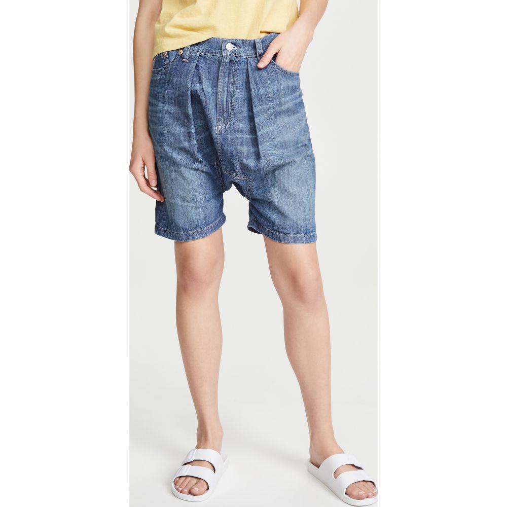 Denimist レディース ショートパンツ ボトムス・パンツ【Carpenter Drop Shorts】Linden Indigo