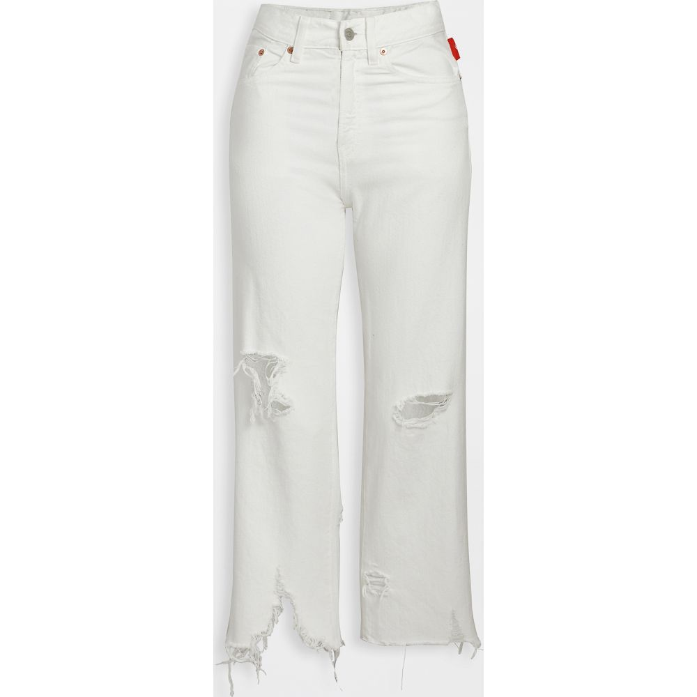 Denimist レディース ジーンズ・デニム ボトムス・パンツ【Pierce High Rise Jeans】White Destroyed