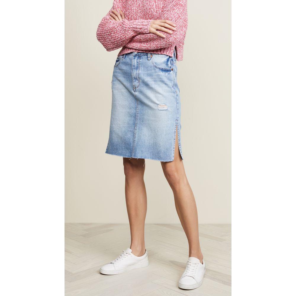 ハビチュアル Habitual レディース スカート スリットスカート【Willa Double Slit Skirt】Holly