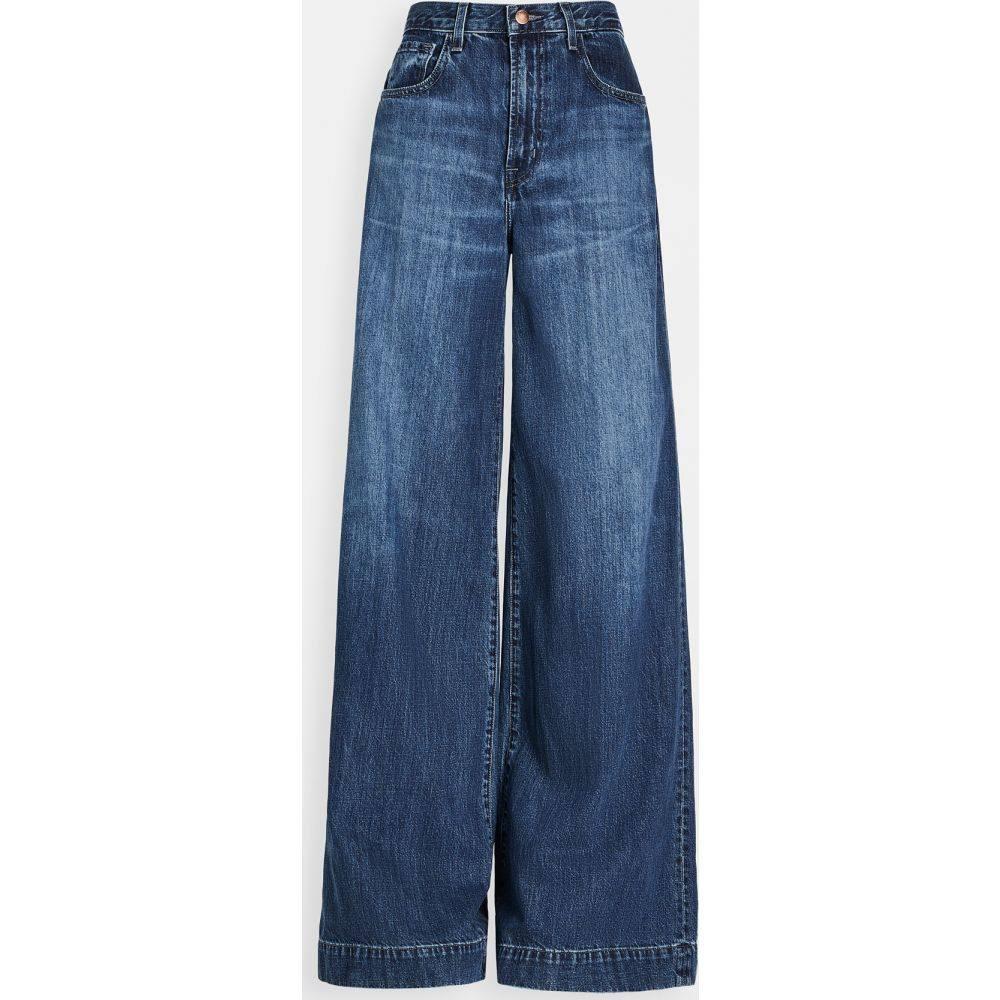 ジェイ ブランド J Brand レディース ジーンズ・デニム ワイドパンツ ボトムス・パンツ【Thelma High Rise Super Wide Leg Jeans】Saltwater