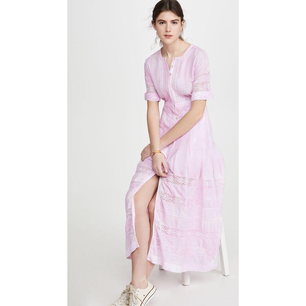 ラブシャックファンシー LOVESHACKFANCY レディース ワンピース ワンピース・ドレス【Edie Dress】Peony Pink