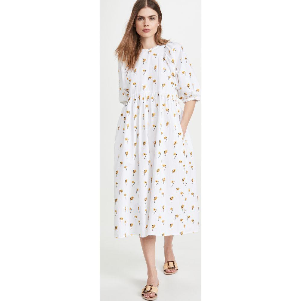 メドウズ Meadows レディース ワンピース ワンピース・ドレス【Azelea Narcissus Dress】Off White/Daffodil