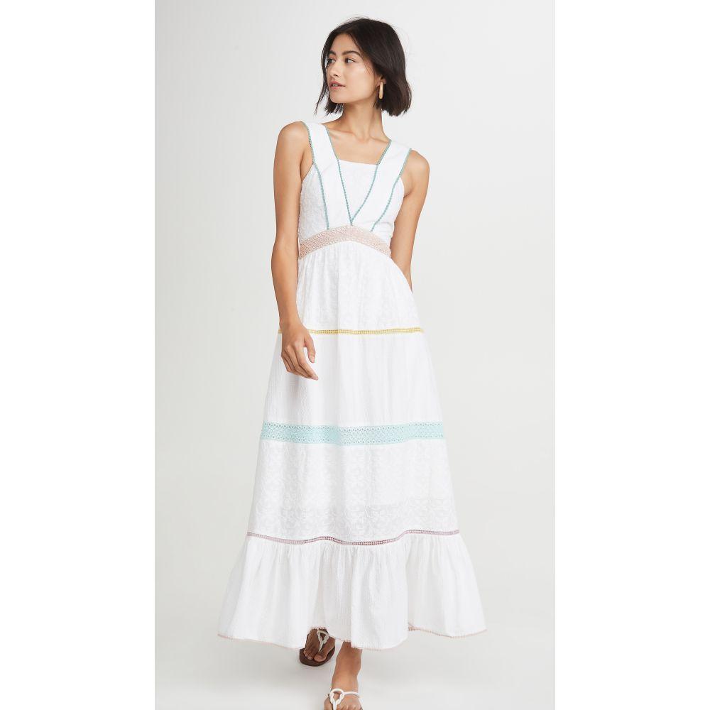 タイガーリリー Tigerlily レディース ワンピース マキシ丈 ワンピース・ドレス【Namita Maxi Dress】White