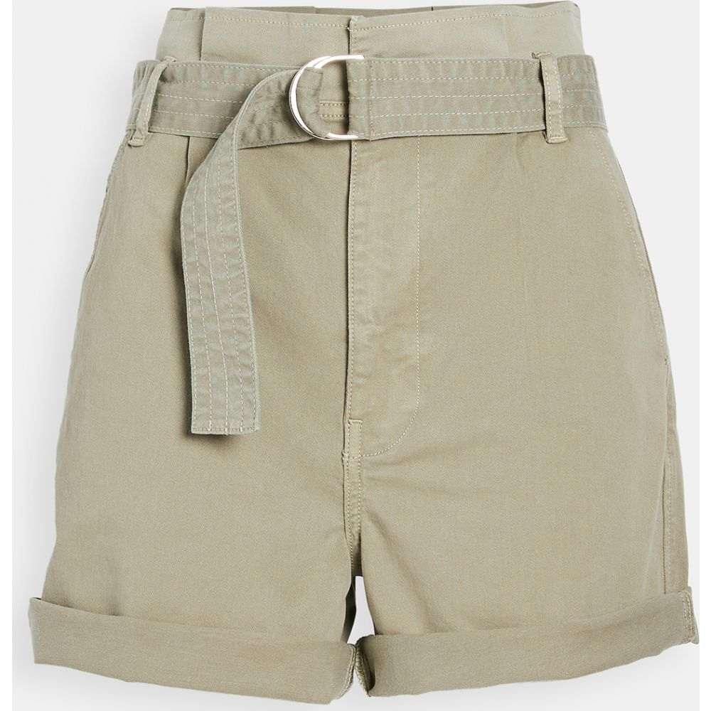 フレーム FRAME レディース ショートパンツ ボトムス・パンツ【Safari Belted Shorts】Washed Od