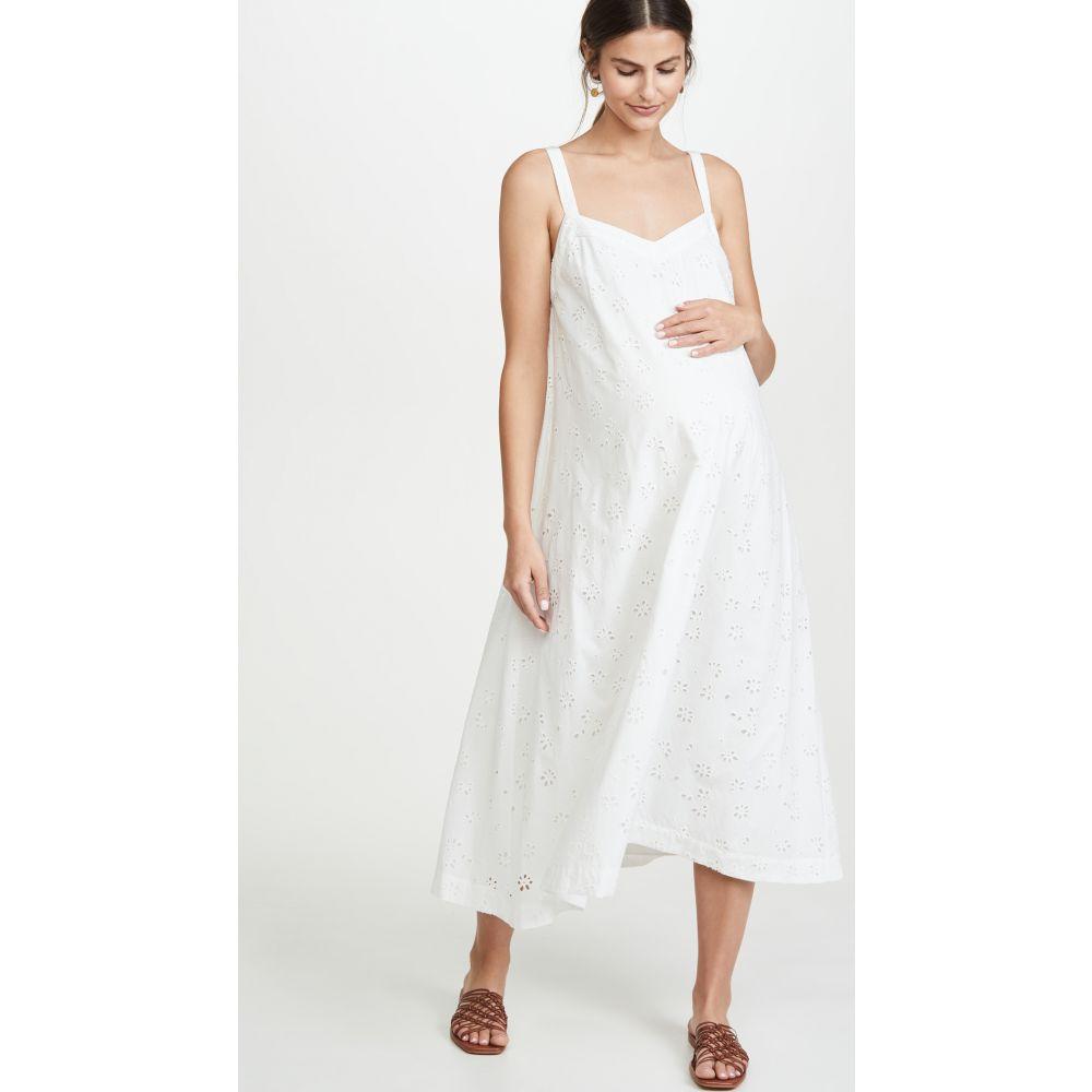 ハッチ HATCH レディース ワンピース ワンピース・ドレス【The Astrid Dress】White