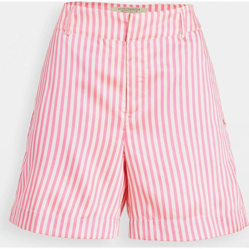 スコッチ&ソーダ Scotch & Soda/Maison Scotch レディース ショートパンツ ボトムス・パンツ【Striped Tailored Shorts】Combo S
